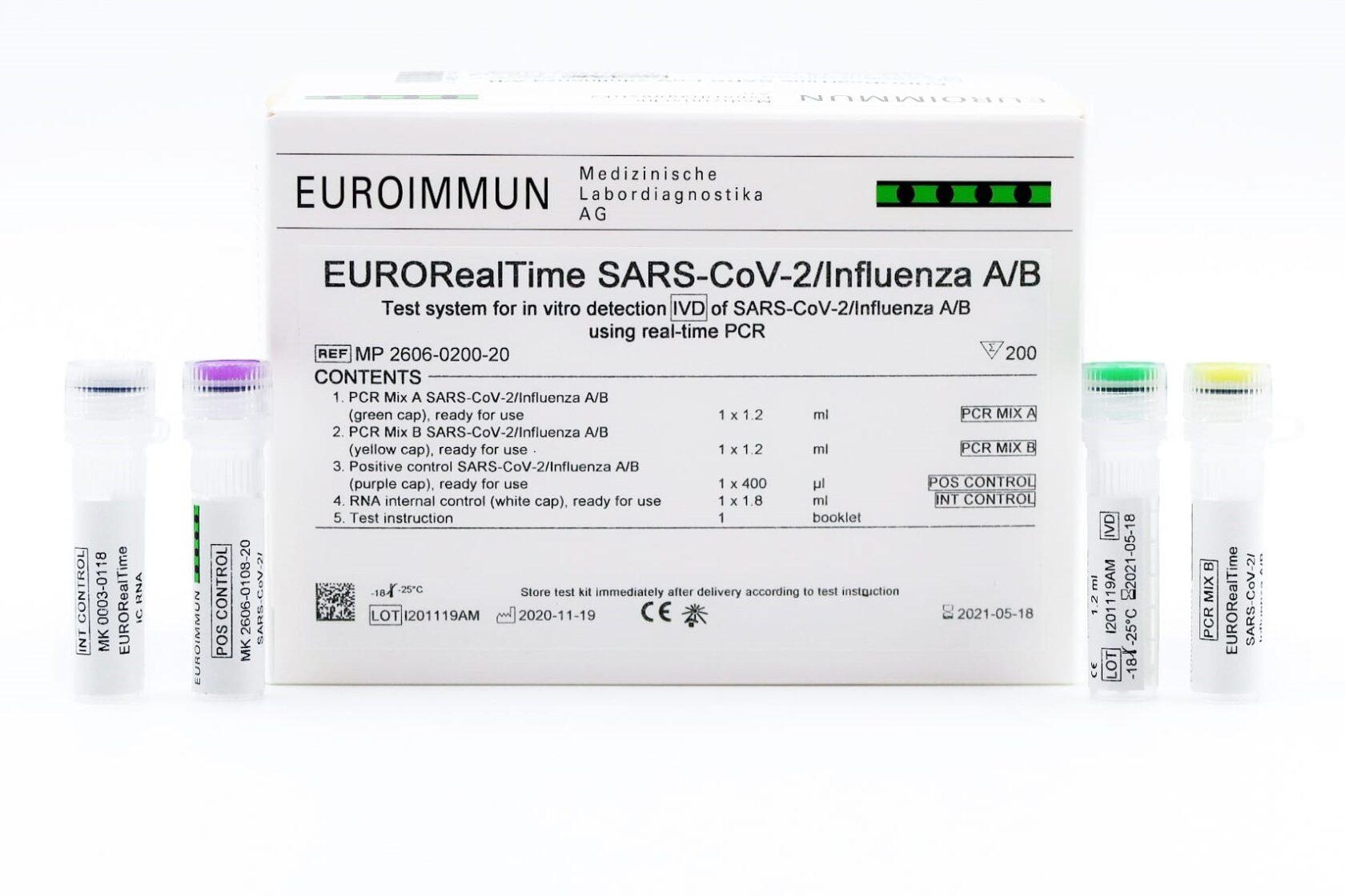 EURORealTime SARS CoV 2 Influenza A B 2606 0200 20 07 V02 NEWS 5fdf85e977